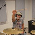 enregistrement batterie rock marseille sandec