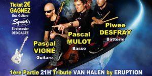 concerts de rock à Marseille tribute Joe Satriani