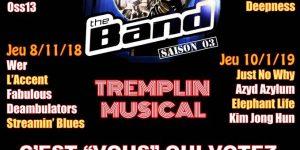 faire connaitre sa musique tremplin the band saison 3