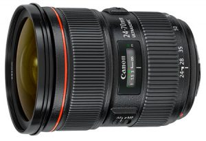 Objectif reflex Canon EF 24 70 mm f 2.8 serie L II USM