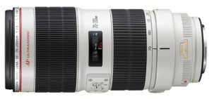 Objectif reflex Canon EF 70 200 mm f 2.8 L IS II USM