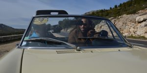 faire un clip en voiture