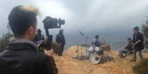clip de rock avec Sandec