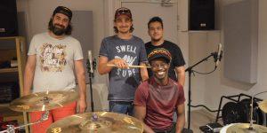 PAP NDIAYE et ses musiciens au Studio Tchaman à Marseille