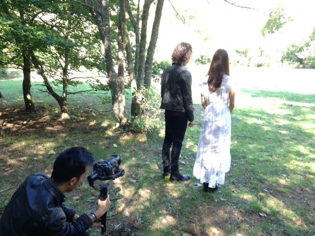 tournage en forêt