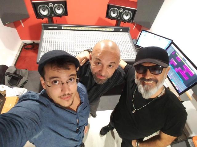 arrangements et enregistrement du single de Richard Lesage au Studio Tchaman