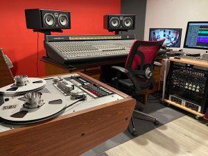 studio d'enregistrement analogique à marseille